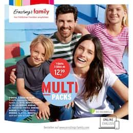Aktueller Ernsting's family Prospekt, MULTIPACKS, Seite 1