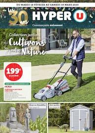 Catalogue Hyper U en cours, Cultivons notre nature, Page 1