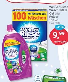 Waschmittel von Weißer Riese im aktuellen BUDNI Prospekt für 9.99€