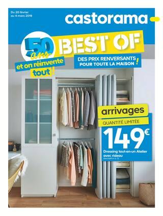 Catalogue Castorama en cours, 50 ans et on réinvente tout !, Page 1