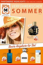 Aktueller Müller Prospekt, Verführerischer Sommer, Seite 1