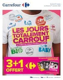 Catalogue Carrefour en cours, Les jours totalement Carrouf, Page 1