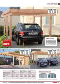 Aktueller BAUHAUS Prospekt, Gartenhäuser/Carports, Seite 127
