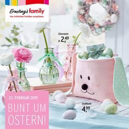 Aktueller Ernsting's family Prospekt, Bunt um Ostern!, Seite 1