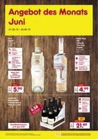 Aktueller Netto Marken-Discount Prospekt, Angebot des Monats Juni, Seite 1