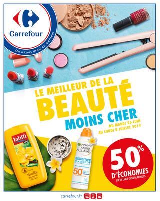 Catalogue Carrefour en cours, Le meilleur de la beauté moins cher !, Page 1
