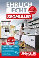 Aktueller Segmüller Prospekt, Segmüller - Ehrlich Echt Segmüller, Seite 1