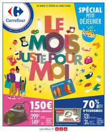 Catalogue Carrefour en cours, Le mois juste pour moi, Page 1