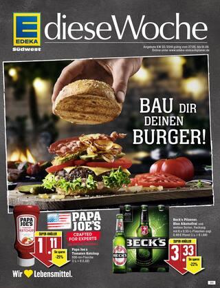 Aktueller EDEKA Prospekt, Bau Dir deinen Burger!, Seite 1