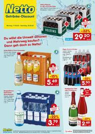 Aktueller Netto Getränke-Markt Prospekt, Du willst die Umwelt schonen und Mehrweg kaufen? Dann geh doch zu Netto!, Seite 1