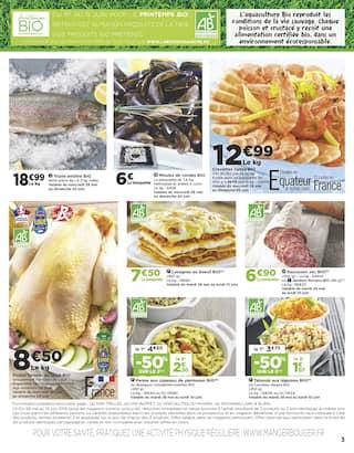 Catalogue Casino Supermarchés en cours, Sélection BIO, Page 3