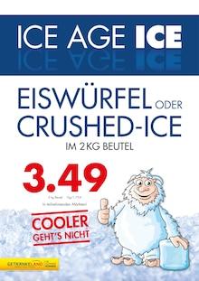 Getränkeland, ICE AGE EISWÜRFEL für Stralsund1