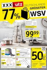 Aktueller XXXLutz Möbelhäuser Prospekt, Deutschlands grösster WSV, Seite 1