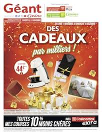 Catalogue Géant Casino en cours, Des cadeaux par milliers !, Page 1