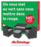 Catalogue Mr Bricolage en cours, On vous met au vert sans vous mettre dans le rouge., Page 1