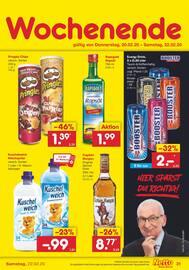 Aktueller Netto Marken-Discount Prospekt, DU WILLST NÄRRISCH GÜNSTIG EINKAUFEN? DANN GEH DOCH ZU NETTO!, Seite 31