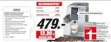 Elektronik von DELONGHI im aktuellen Media-Markt Prospekt für 479€
