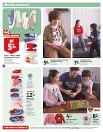 Catalogue Auchan en cours, L'escalope de veau à la crème responsable de Pierre., Page 44