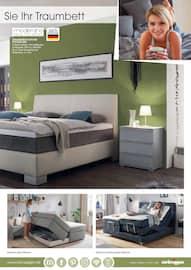 Aktueller Zurbrüggen Prospekt, Schlafen Spezial, Seite 21