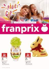 Catalogue Franprix en cours, À Pâques on est cap, Page 1