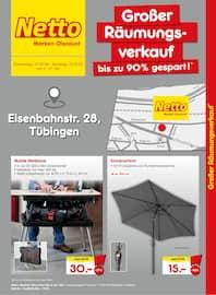 Aktueller Netto Marken-Discount Prospekt, Großer Räumungsverkauf - bis zu 90% gespart!, Seite 1
