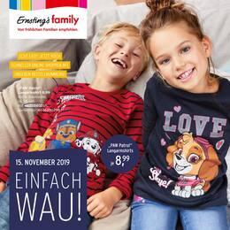 Aktueller Ernsting's family Prospekt, Einfach Wau!, Seite 1