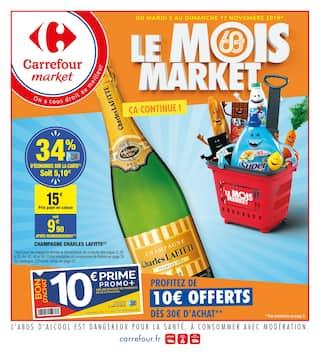 Catalogue Carrefour Market en cours, Le mois market, Page 1