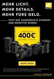 Aktueller Nikon Prospekt, Mehr Licht. Mehr Details. Mehr fürs Geld., Seite 1