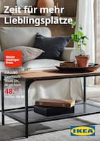 Aktueller IKEA Prospekt, Zeit für mehr Lieblingsplätze, Seite 1