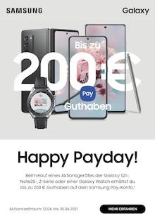 Samsung Prospekt Happy Payday!