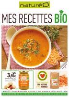 Catalogue NaturéO en cours, Mes recettes bio, Page 1