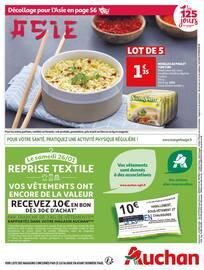 Catalogue Auchan en cours, Les 125 jours qui changent la vie, Page 72
