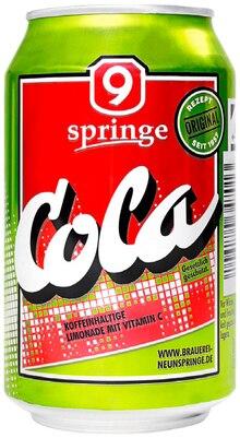 Cola von Afri Cola oder Neunspringe Cola im aktuellen REWE Prospekt für 0.39€