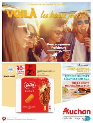Catalogue Auchan en cours, Voilà les beaux jours !, Page 1