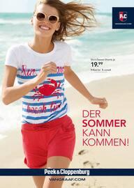 Aktueller Peek&Cloppenburg Prospekt, Der Sommer kann kommen!, Seite 1