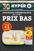 Catalogue Hyper U en cours, Prix Bas, Page 1