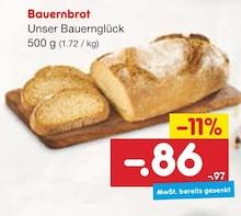 Brot im aktuellen Netto Marken-Discount Prospekt für 0.86€