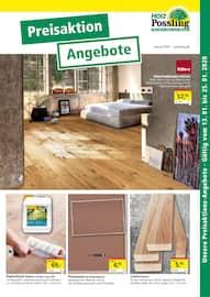 Aktueller Holz Possling Prospekt, Preisaktion Angebote, Seite 1