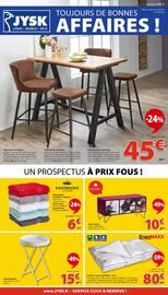 Catalogue Jysk en cours, Toujours de bonnes affaires !, Page 1