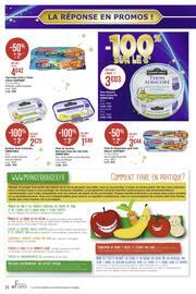 Catalogue Casino Supermarchés en cours, La réponse en promos ! -100% sur le 3ème, Page 24