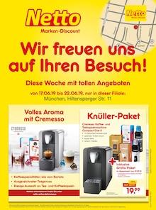 Netto Marken-Discount, WIR FREUEN UNS AUF IHREN BESUCH! für Dachau