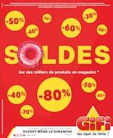 Catalogue Gifi en cours, Soldes, Page 1