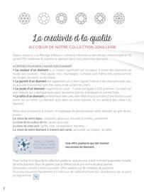 Catalogue Le Manège à Bijoux en cours, Collection joaillerie diamant et perle, Page 2