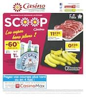 Catalogue Casino Supermarchés en cours, Les super bons plans !, Page 1