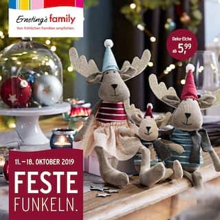 Aktueller Ernsting's family Prospekt, Feste Funkeln., Seite 1