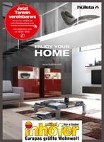 Aktueller Möbel Inhofer Prospekt, ENJOY YOUR HOME, Seite 1