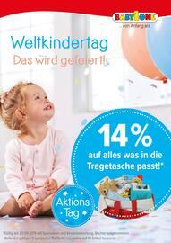 Aktueller BabyOne Prospekt, Weltkindertag - Das wird gefeiert! , Seite 1