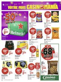 Catalogue Géant Casino en cours, Votre mois Casinomania, Page 42