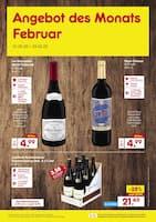 Aktueller Netto Marken-Discount Prospekt, Angebot des Monats Februar, Seite 1