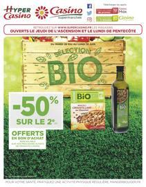 Catalogue Casino Supermarchés en cours, Sélection BIO, Page 1